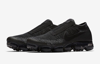 a86ff28aeb2 Nike Air Vapormax Flyknit SE Laceless Black Night Size 12 Dark Grey AQ0581  001