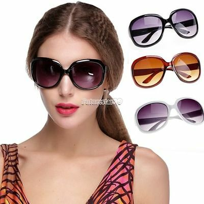 Women Retro Vintage Shades Fashion Oversized Designer Sunglasses Accessories _