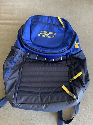 73045dc3db Under Armour Steph Curry SC30 Undeniable Basketball Warriors Backpack BRAND  NEW