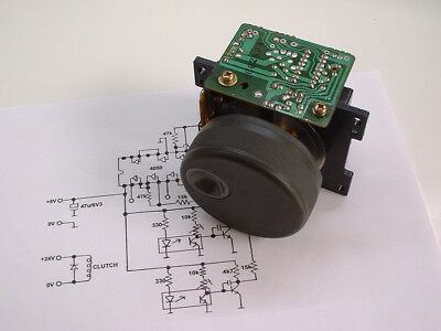 Ex-Panasonic D5 VTR: Jog/Shuttle Dial (Optical Perforated Vane Type with Clutch)