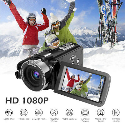 "ULTRA 4K HD 1080P 3"" LCD Digital Video Camera Camcorder Recorder Night Vision"