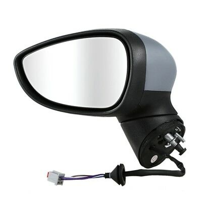 For Ford Fiesta Mk7 2008 - 2012 Electric Wing Mirror Primed Left Passenger  X6Y8