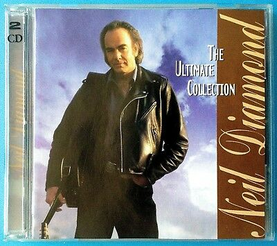 NEIL DIAMOND: The Ultimate Collection (2 Disc Best Of/Greatest Hits CD) -VGC-