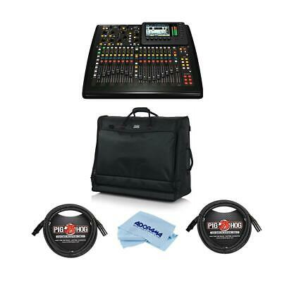 Behringer X32 40-Input 25-Bus Digital Mixing Console With Accessory Bundle