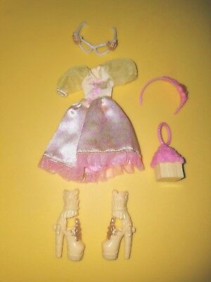 Ever After High Rosabella Beauty doll *Birthday Ball clothes/ Outfit Lot