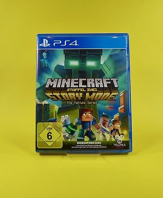 Minecraft : Story Mode - Staffel Zwei - PlayStation 4 - PS4 Spiel - USK Version