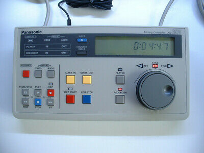 Panasonic AG-A570-B Edit Controller: New, Unused with Original PSU, Instructions