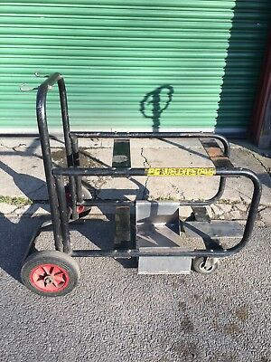Welding Trolley, Arc, Mig, Tig, Bottle, Gas, Wheels, Console, Tidy, Large, Metal