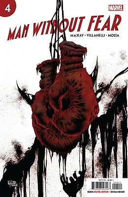 Man Without Fear # 4 Cover A NM Marvel
