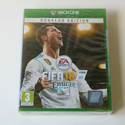 Fifa 18 - Ronaldo Edition - Includes Steelbook - Xbox One Game - New & Sealed