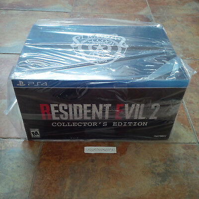 Resident Evil 2 Limited Collectors Edition for PlayStation 4 PS4 New. Sealed