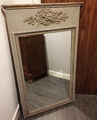 Early 20th French Century Painted Mirror