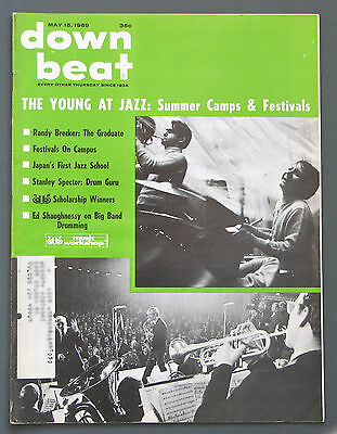 Down Beat jazz magazine May 15, 1969 - Randy Brecker, College Radio, Jazz Ed