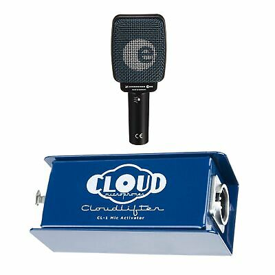 Cloud Microphones CL-1 Cloudlifter Bundle with Sennheiser e906 Mic