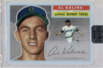 Al Kaline 2018 Topps Clearly Authentic On Card Auto Autograph #62/99 Tigers Hof