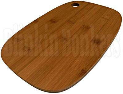 Bamboo Wood Wooden Kitchen Chopping Board Food Cutting Slicing Serving Platter
