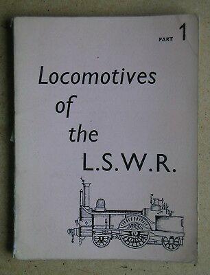 Locomotives of the London and South Western Railway. Part 1. By D L Bradley 1965