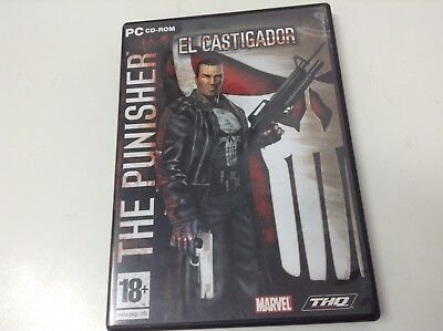 THE PUNISHER EL CASTIGADOR . Cd-Rom España
