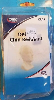 Carex Cpap Deluxe Chin Restraint Man Woman Sleep Aid Stability Strap Latex Free
