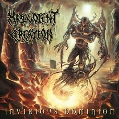 "Malevolent Creation ""invidious Dominion"" Cd New!"