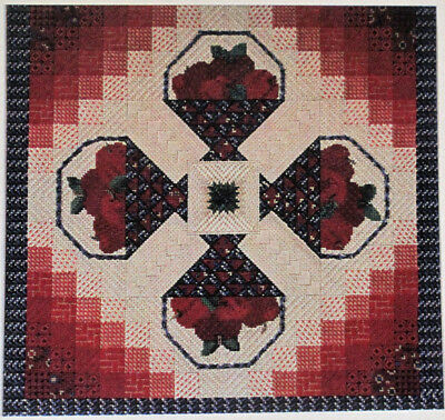 Genny Morrow Baskets N Shadows Counted Needlepoint Chart/Pattern
