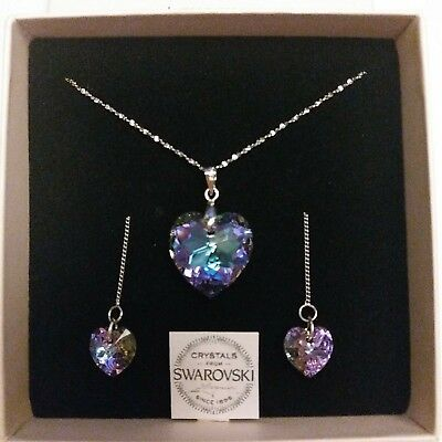 a966876df Sterling silver necklace with genuine Crystals from Swarovski® 2019 new  stock!