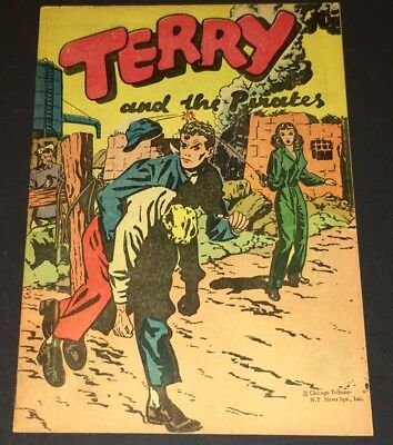 Terry & The Pirates (1938) Popped Wheat Giveaway ~ Full Color Strip Reprints -Xf