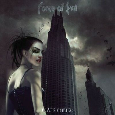 Force Of Evil - Black Empire (Special Edition)  Cd Heavy Metal 15 Tracks New!