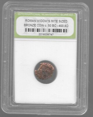 Rare Very Old Ancient Widows Mite Roman Empire Era Jesus Bible Relic Coin 103