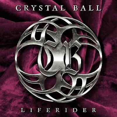 Crystal Ball - Liferider (Ltd.digipak)  Cd New!