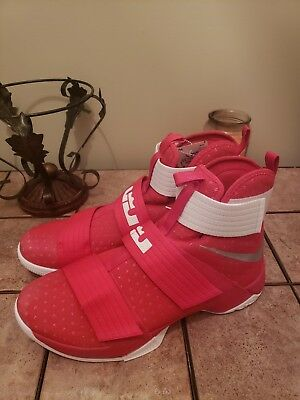 ee326357611 NEW. NIKE LEBRON James Soldier X 10 TB Promo Red 856489-663 Mens ...