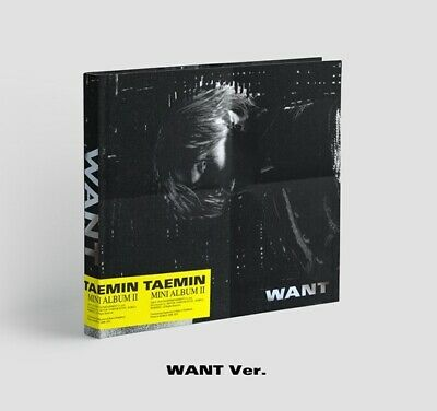 Shinee Taemin-[Want] 2nd Mini Album Want Ver CD+Poster+Booklet+Card+Stand+Gift