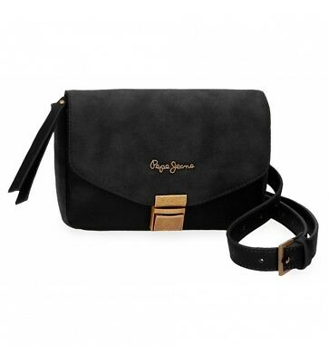 88c313af1a Pepe Jeans - Bum bag con tracolla Pepe Jeans Bitmat Nero -18x15x15x5cm Donna
