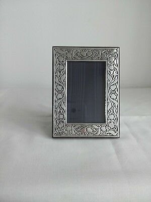 """Antique sterling silver photo frame Hallmarked for London pre 1940""""s"""
