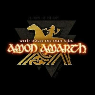 """Amon Amarth """"With Oden On Our Side"""" Cd New!"""