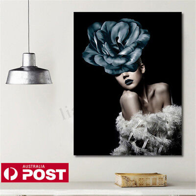 AU Sexy Women Picture Canvas Print Painting Art Wall Decor Unframed Poster HOT