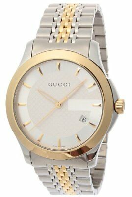 8be94ecdec1 GUCCI watch G Timeless silver dial plate stainless steel   stainless