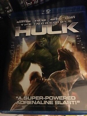 The Incredible Hulk Blu-ray Disc Movie