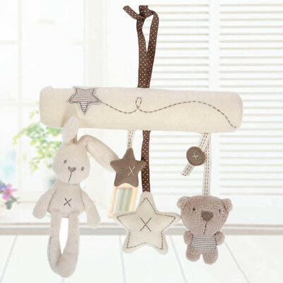 Newborn Baby Pram Handbell Bed Stroller Hanging Music Toy Animal Rattles Toys