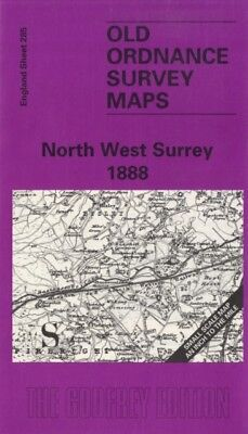 North West Surrey 1888: One Inch Map 285 (Old Ordnance Survey Maps ...