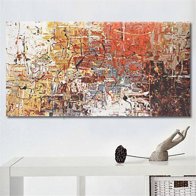 Large Modern Abstract Oil Canvas Print Painting Picture Home Wall Decor