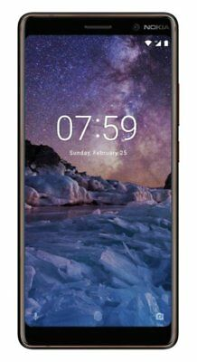 SIM Free Nokia 7 Plus 6 Inch 24MP 64GB 4G Android Mobile Phone Black