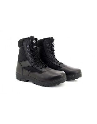 6aaec2f7b39 Mens Black Combat Boots Security Tactical Army Cadet Grafters M668A Size 5    12