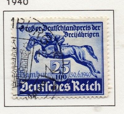 Germany 1940 Early Issue Fine Used 25pf. 300793
