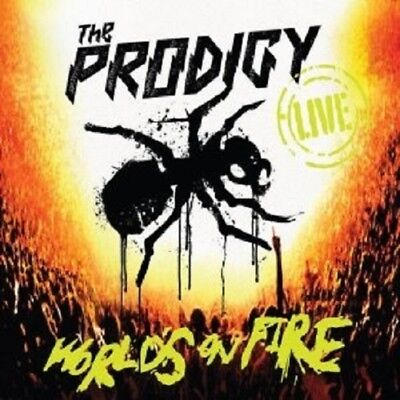 "The Prodigy ""live The Worlds On Fire"" Cd+Dvd New!"