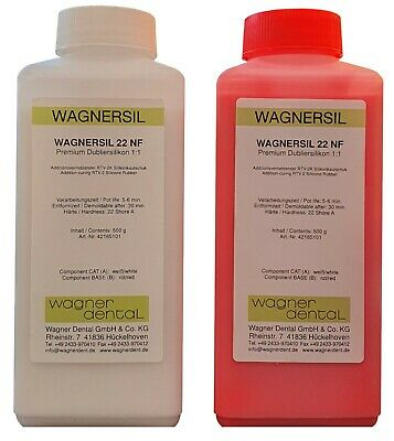 Wagnersil Premium Silicone Rubber Duplicating Abform 9-35 Shore