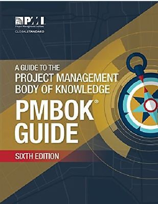 PMBOK Guide:Guide to the Project Management Body of Knowledge – Sixth Edition.