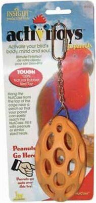 Bird Toy Rubber Toy for stuffing in treats / peanuts by JW