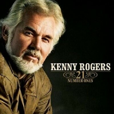 Kenny Rogers '21 Number Ones' Cd New!