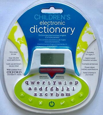 Children's Electronic Dictionary Oxford